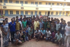 BEO Visiting to Ramakunja Hostel, before SSLC Exam