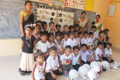 LKG/UKG Black & White Day Celebration