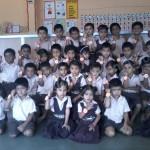 Celebration of Rakshabhandhan at Kinder Garten